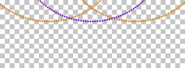 String slingers met ballen Premium Vector