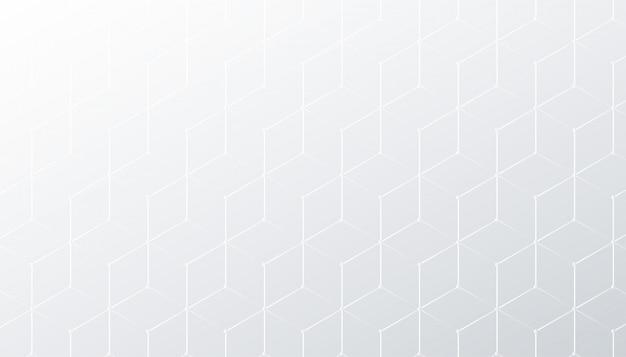 Subtiele ruit witte en grijze patroonachtergrond Gratis Vector