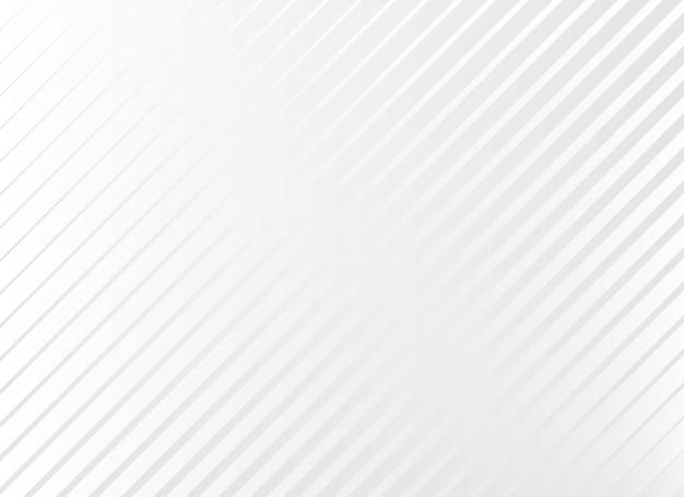 Subtiele witte achtergrond met diagonale lijnen Gratis Vector