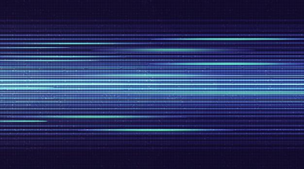 Super speed light circuit met netwerktechnologie Premium Vector