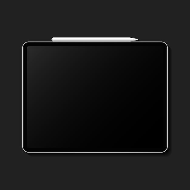 Tablet-mock-up Gratis Vector