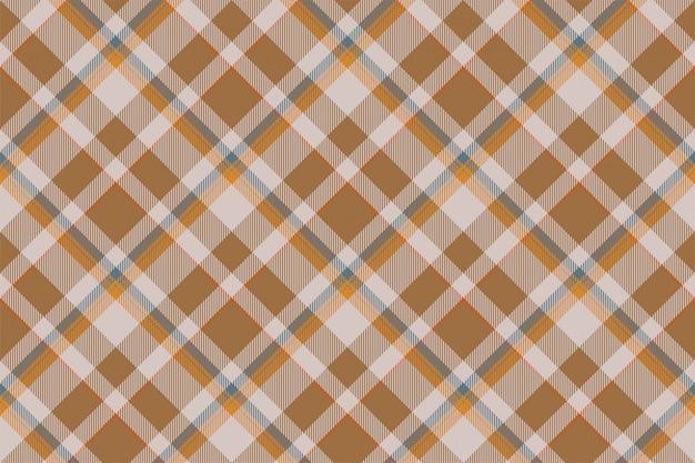 Tartan schotland naadloze geruite patroon. retro stof als achtergrond. vintage selectievakje kleur vierkante geometrische textuur. Premium Vector