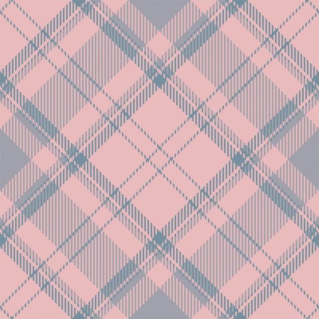 Tartan schotland naadloze plaid patroon. retro stof als achtergrond. vintage selectievakje kleur vierkante geometrische textuur. Premium Vector