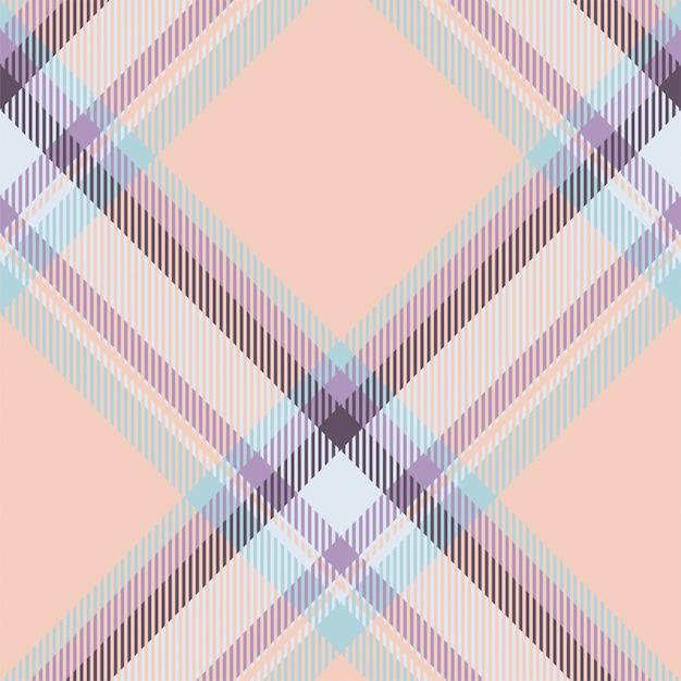 Tartan schotland naadloze plaid patroon vector. retro stof als achtergrond. vintage check kleur vierkant geometrische textuur. Premium Vector