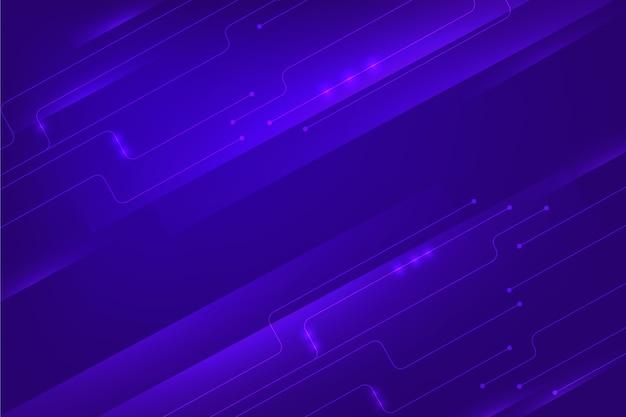 Technologie cyber achtergrondconcept Gratis Vector