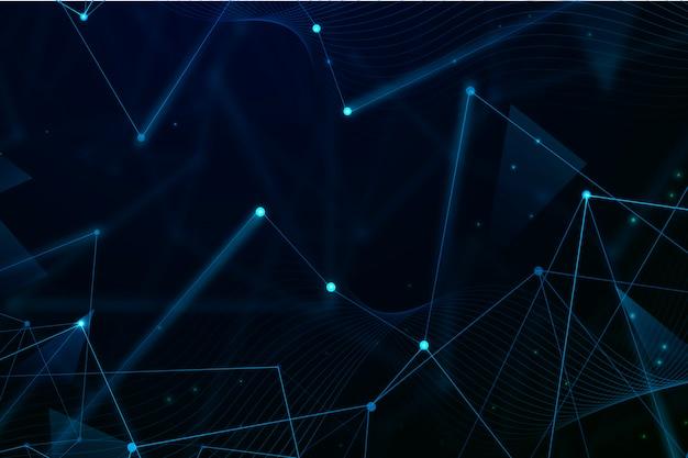 Techonology futuristische achtergrond Gratis Vector