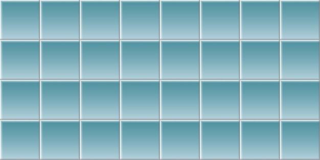 Tegel achtergrond. brick textuur. vierkante tegels. Premium Vector