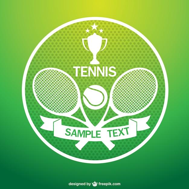 Tennistoernooi vector kunst Vector | Gratis Download