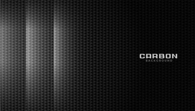 Textuur van koolstofvezelmateriaal met lichteffect Gratis Vector