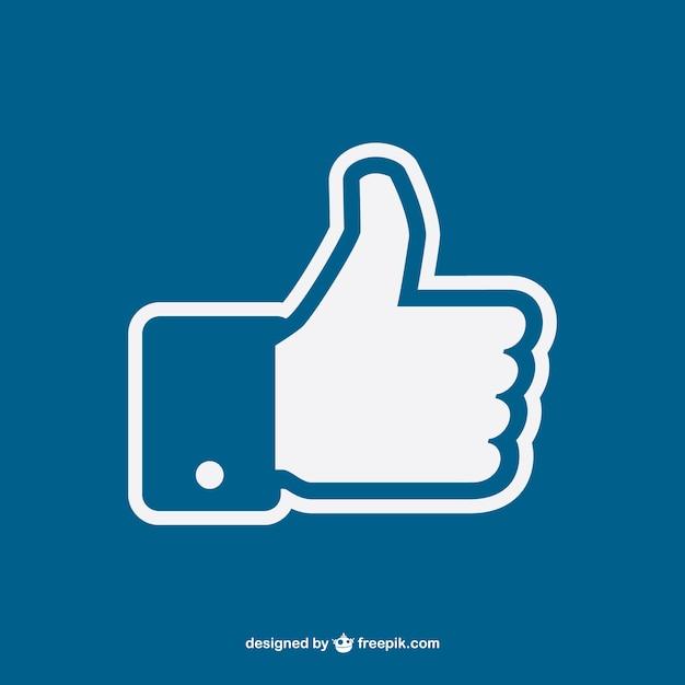 Thumbs up vector Gratis Vector