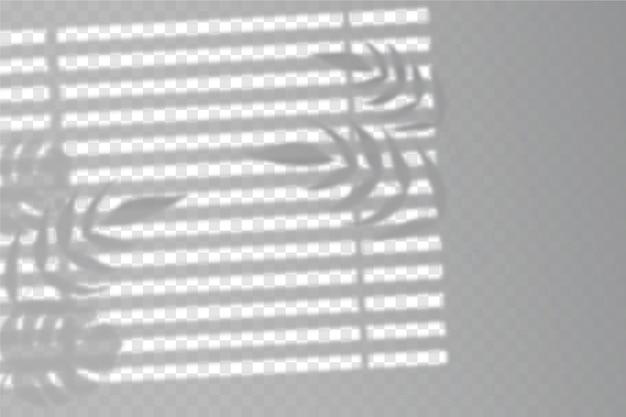 Transparant schaduwen-overlay-effect Gratis Vector