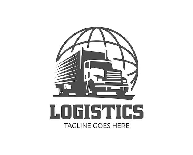 Truck-logo Premium Vector