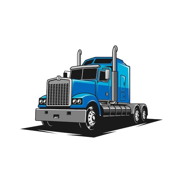 Truck-luxe Premium Vector