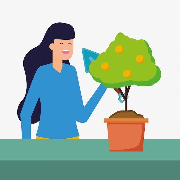 Tuinieren concept Gratis Vector