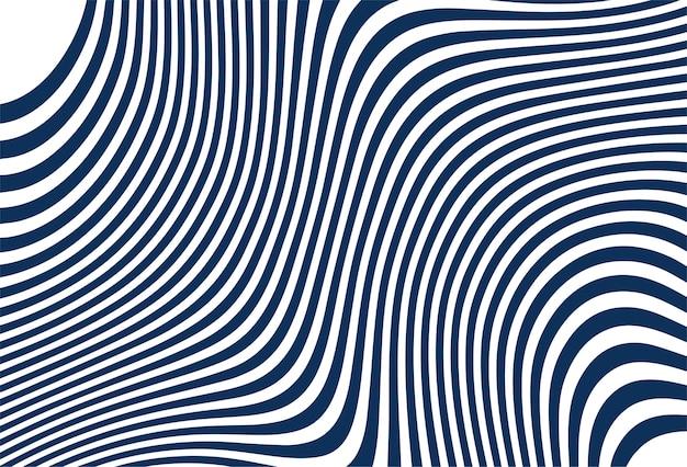 Turquoise naadloze zigzagpatroon Gratis Vector
