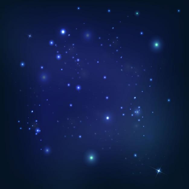 Universum ruimte Gratis Vector