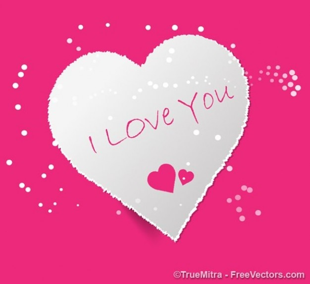 Valentijn hart kaart i love you vector gratis download valentijn hart kaart i love you gratis vector voltagebd Images