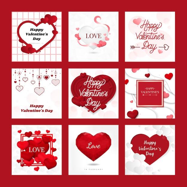 Valentijnsdag 14 februari vector Gratis Vector