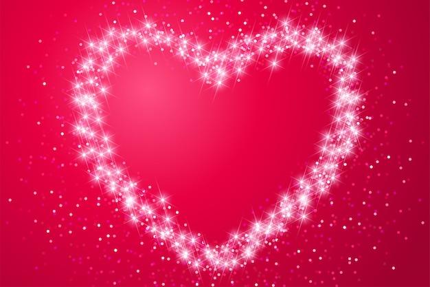 Valentijnsdag illustratie Premium Vector