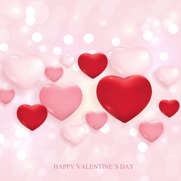 Valentijnsdag liefde en gevoelens verkoop. Premium Vector