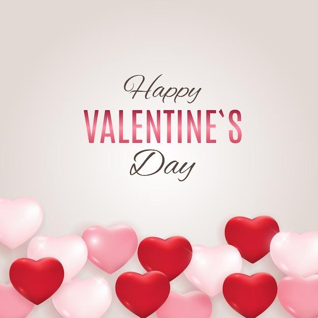 Valentijnsdag liefde en gevoelens. Premium Vector