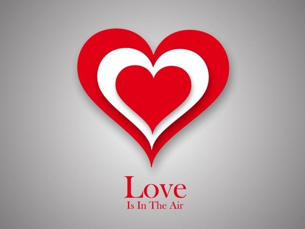 Valentine's achtergrond ontwerp Gratis Vector