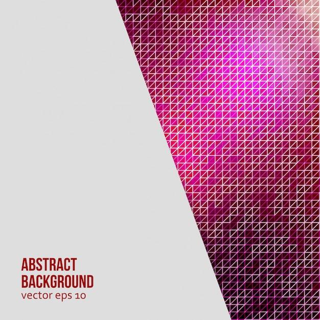 Vector abstracte achtergrond. driehoek geometrisch Gratis Vector