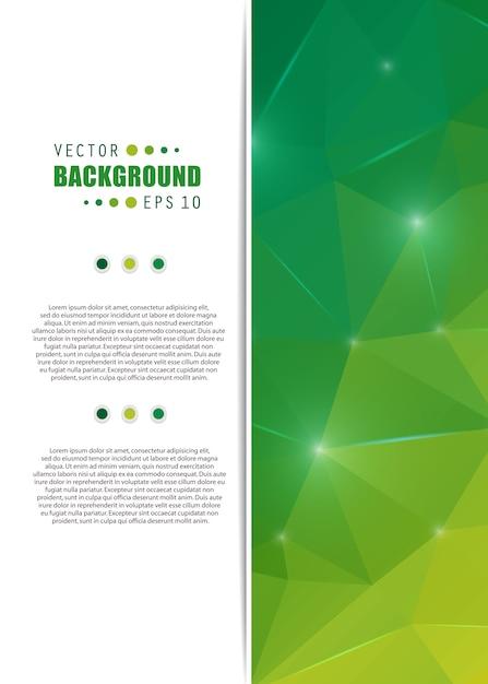 Vector abstracte creatieve achtergrond. Premium Vector