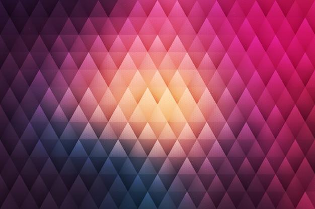 Vector abstracte geometrische achtergrond Premium Vector