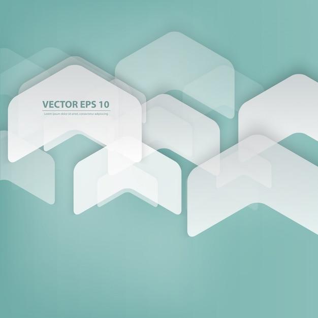 Vector abstracte geometrische vorm van grijs. Gratis Vector