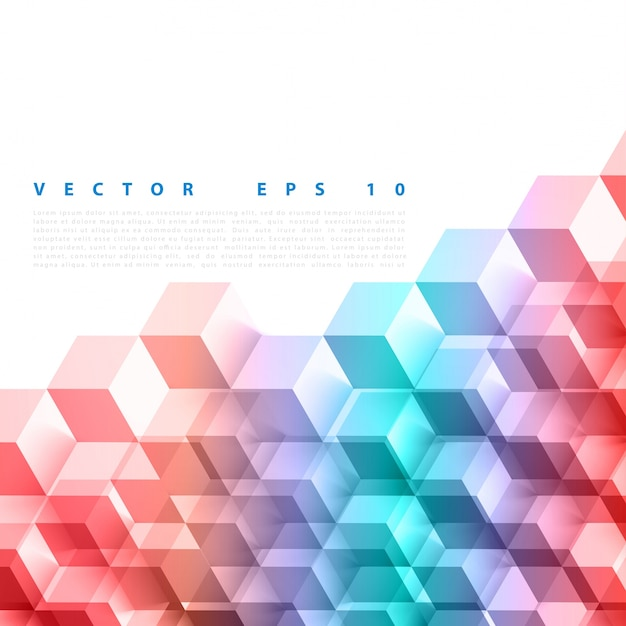 Vector abstracte geometrische vorm van grijze blokjes. Gratis Vector