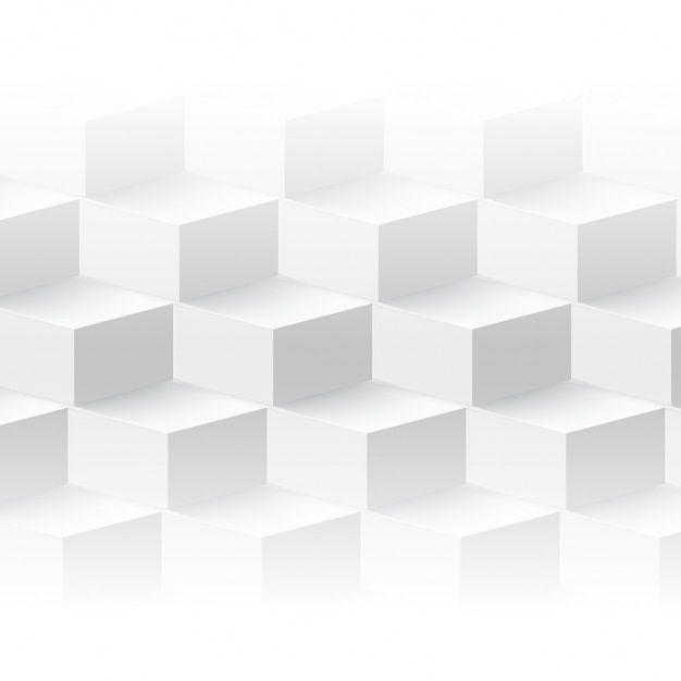 Vector abstracte geometrische vorm van kubussen. Gratis Vector