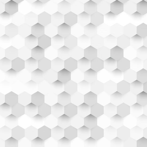 Vector abstracte kleur 3d hexagonaal. Gratis Vector