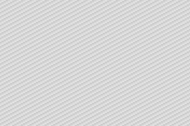 Vector abstracte witte koolstofvezelachtergrond Premium Vector