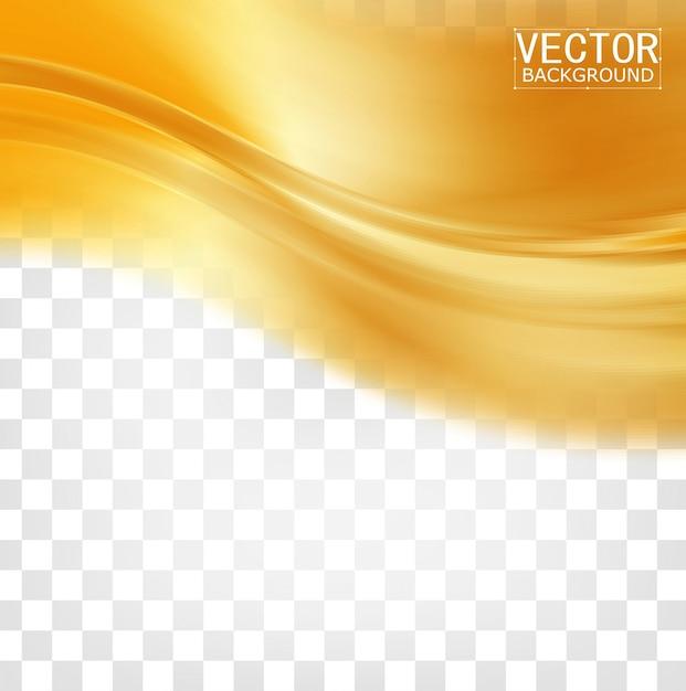 Vector prachtig gouden satijn Gratis Vector