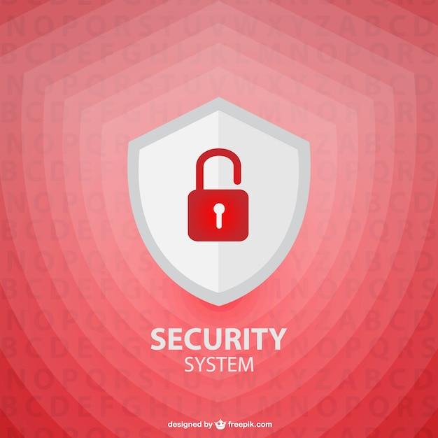 Vector veiligheid schild sjabloon Gratis Vector