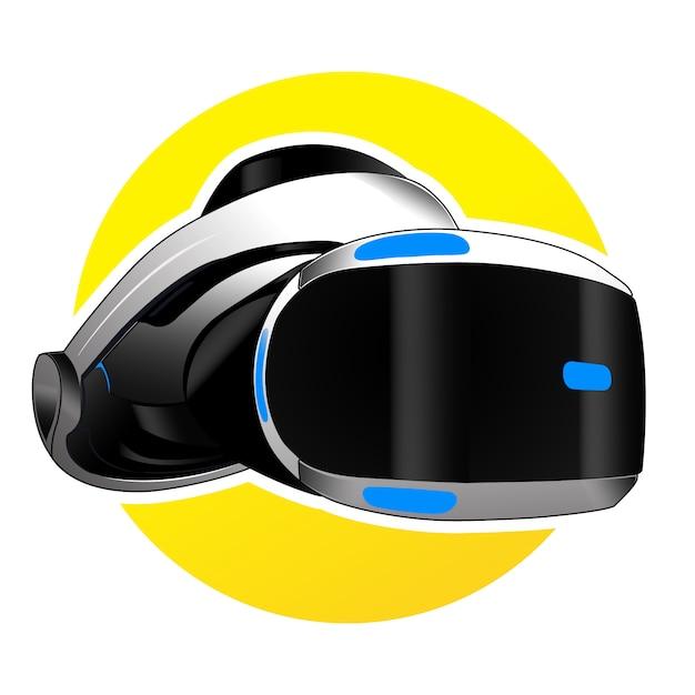 Vector virtual reality voor gaming Premium Vector