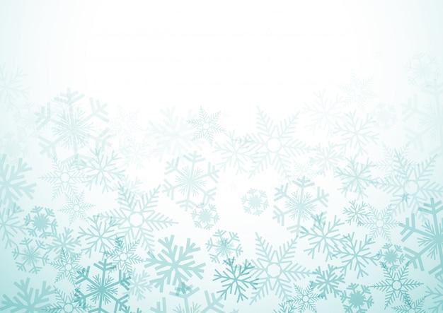 Vector winter achtergrond Premium Vector