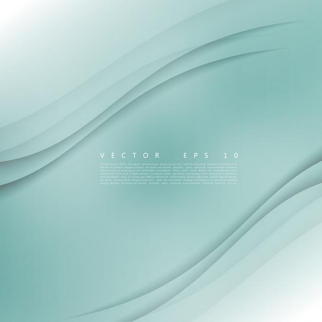 Vector wit van golvende banner. Gratis Vector
