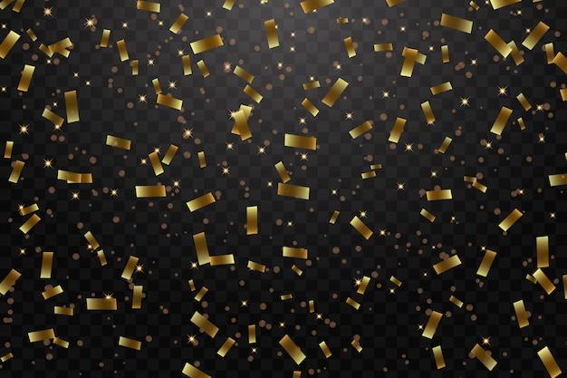 Vectorillustratie van vakantie confetti achtergrond Premium Vector