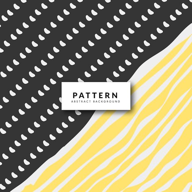 Veelkleurige abstracte tribale patroon Gratis Vector