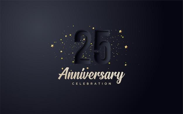 Verjaardag viering achtergrond. Premium Vector