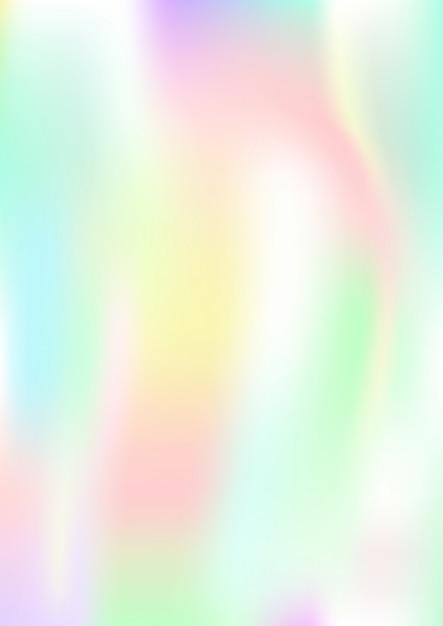 Verticale abstracte achtergrond met holografisch effect. vector illustratie. Premium Vector