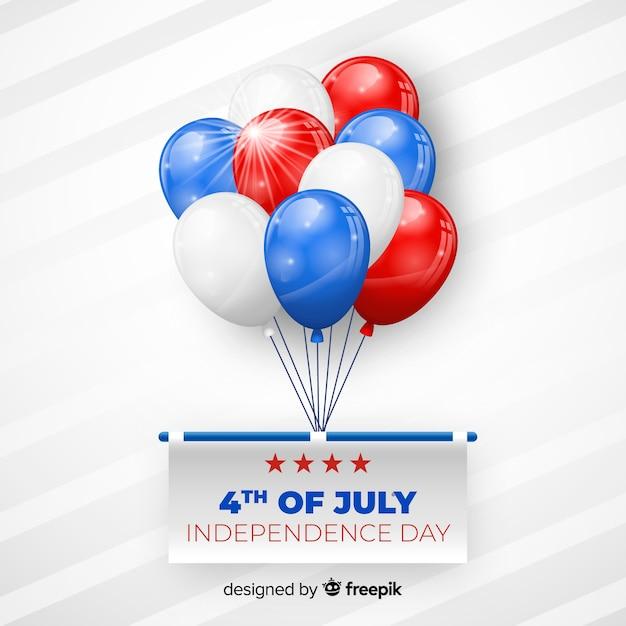 Vier juli Gratis Vector