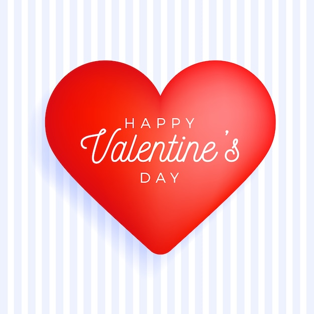 Vierkant flyer happy valentine day groetbanner met felicitatieteken Premium Vector