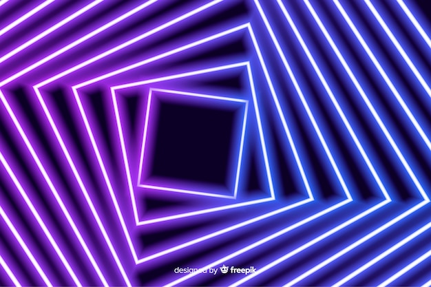 Vierkante stroom podium lichte achtergrond Gratis Vector
