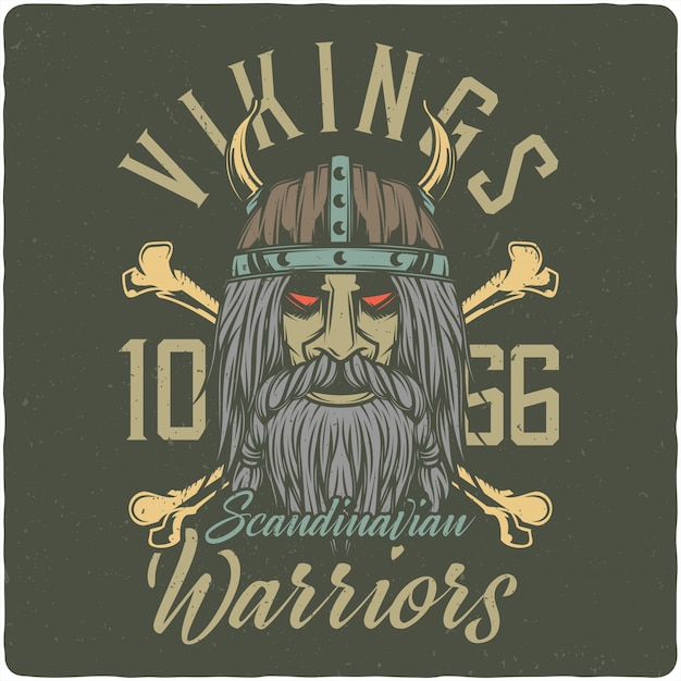 Viking Premium Vector