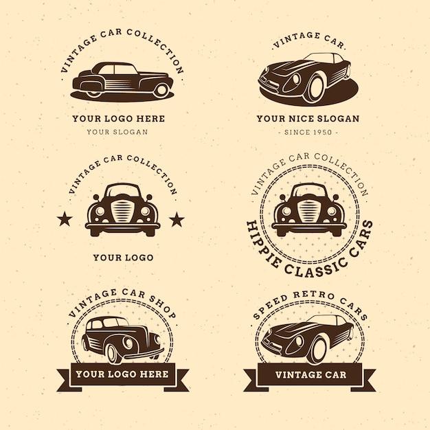 Vintage Auto Logo-collectie