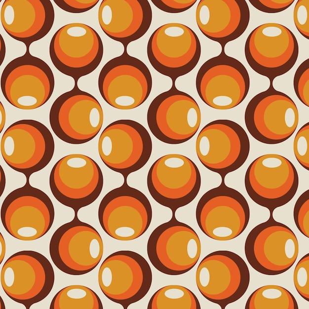Vintage geometrisch hip patroon Gratis Vector