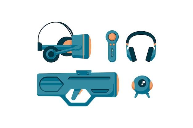 Virtual reality-apparatuur Gratis Vector